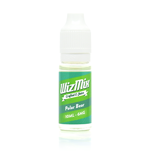 wizmix polar bear mint e liquid vape oil direct