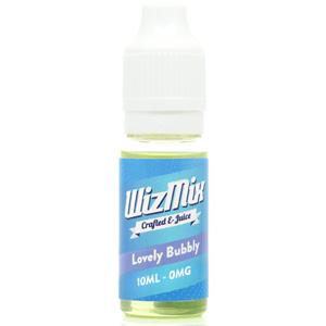 wizmix lovely bubbly e liquid vape oil direct