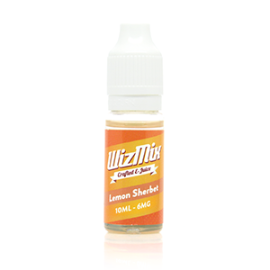wizmix lemon sherbert e liquid juice